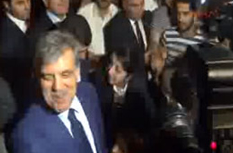 'Başbakan Gül' sloganları