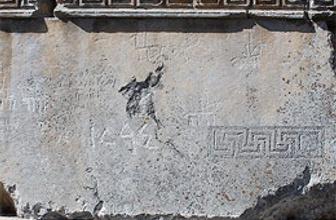 Zeus Tapınağı'nda Türk izleri