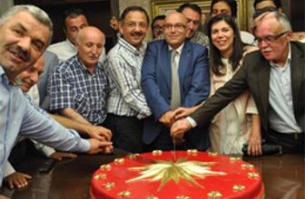 Erdoğan'ın zaferi için özel Köşk pastası