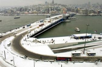 İstanbul'a kar ne zaman yağacak işte tarihi