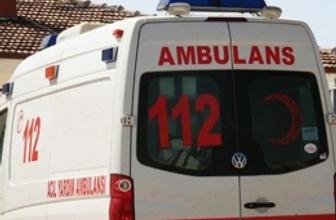 Antalya'da yolcu otobüsü kaza yaptı