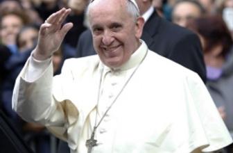 Papa bugün geliyor ziyaretin asıl nedeni bu!