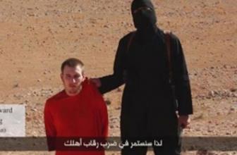 IŞİD kafasını kestiği gazetecinin cesedini satıyor!