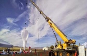 Google'ın balonları bedava internet dağıtacak