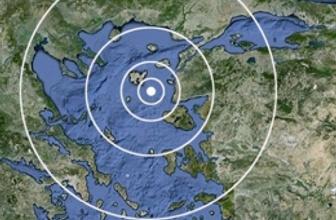 Çanakkale'de son dakika deprem