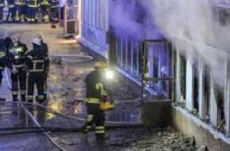 İsveç'te bir cami kundaklandı