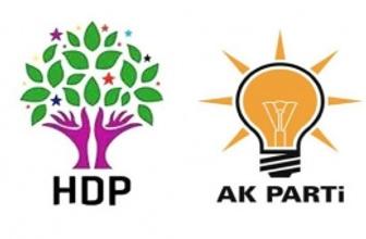 AK Parti ve HDP reklamlarındaki şaşırtan detay