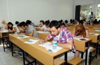 AÖF vize sınavı giriş geçme notları