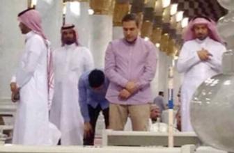 Hakan Fidan Umre'de görüntülendi