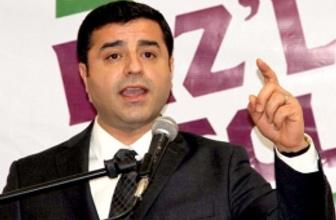 Demirtaş 'Erdoğan HDP'ye oy istiyor'