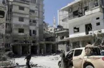 Suriye'nin Cisr eş-Şugur ilçesinde yoğun çatışmalar