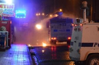 Mardin'de Kobani gerginliği sert müdahale