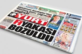 Yurt gazetesi yayın hayatına ara verdi