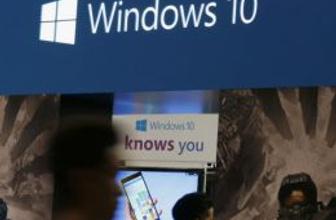 Microsoft  Windows 10 bugün piyasada