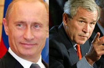 Putin Bushu balığa davet etti