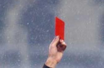 En hızlı kırmızı kart görme rekoru