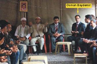 DTPli Başkan PKK taziyesinde
