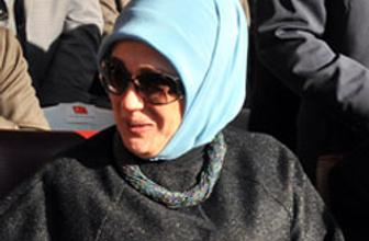 Emine Erdoğan'ın gezisine tepki