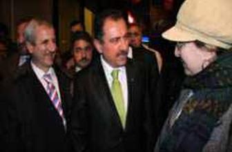 BBP lideri Muhsin Yazıcıoğlu Edirnede