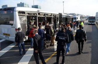 Beylikdüzü'nde metrobüsler çarpıştı!