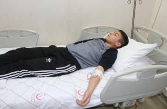 Lisede civa paniği: 34 öğrenci hastaneye kaldırıldı!
