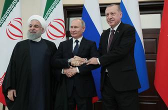 Soçi Zirvesi sonrası Erdoğan Putin ve Ruhani'den kritik açıklamalar