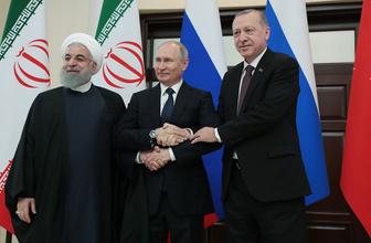 Soçi Zirvesi sona erdi Erdoğan Putin ve Ruhani'den kritik açıklamalar