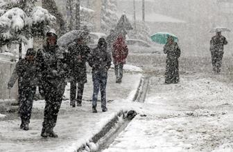 Bolu kar yağışı başladı yeni hava durumu nasıl?