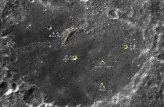 Ay'ın karanlık yüzüne Çince isimler verildi!
