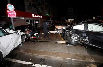 Beşiktaş'ta trafik kazası: 4 yaralı