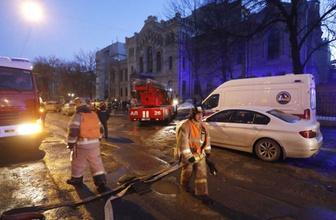 Rusya'da üniversite binası çöktü