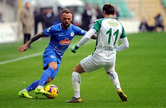 Bursaspor, Rizespor'a diş geçiremedi