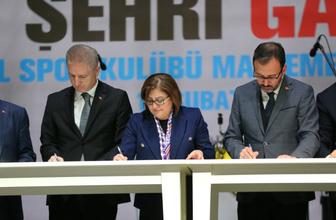 Gaziantep'e 127 milyon liralık spor yatırımı