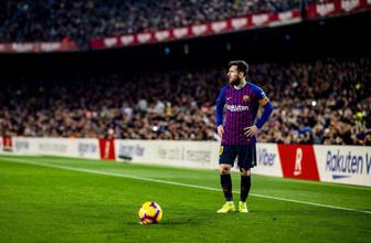 Lionel Messi penaltıyla kötü gidişe dur dedi