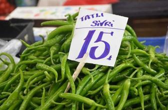 Fiyatı düşmeyen tek sebze sivribiber oldu! Sivri biberin fiyatı kaç