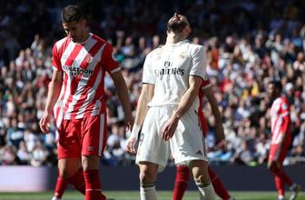 Real Madrid'e kendi evinde soğuk duş!