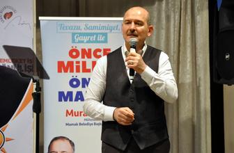İçişleri Bakanı Süleyman Soylu'dan taciz iddiasına cevap