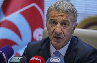 Trabzonspor Başkanı Ahmet Ağaoğlu özür diledi