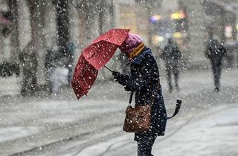 İstanbullular dikkat! Meteoroloji'den kar uyarısı