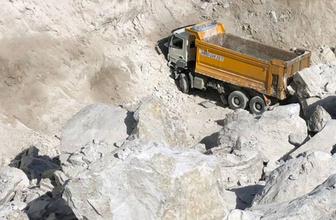 Milas'ta maden ocağında göçük: 1 işçi öldü, 2 işçi enkaz altında