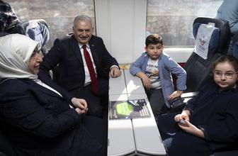 Binali Yıldırım İstanbul'da : 'Borcumuzu ödemek için geldik'