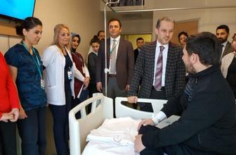 Düzce'de hastanelere 'hal-hatır' ekibi kuruldu
