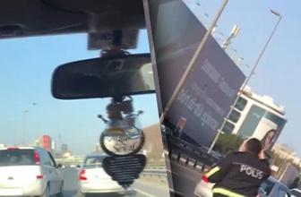 Zeytinburnu'nda iki inatçı sürücü trafiği birbirine kattı!