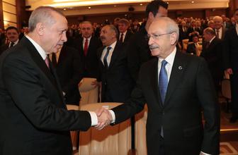 Cumhurbaşkanı Erdoğan ile Kılıçdaroğlu tokalaştı saldırıdan sonra bir ilk