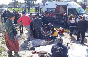Son dakika Mersin Silifke'de işçileri taşıyan araç kaza yaptı! Çok sayıda ölü var