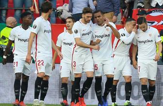 Sevilla, Lazio'yu rahat geçti