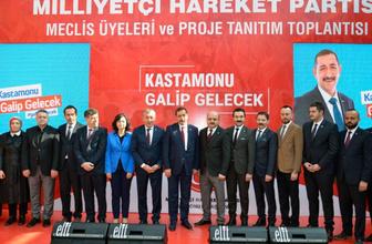 MHP Kastamonu Belediye Başkan adayı Op. Dr. Vidinlioğlu projelerini anlattı