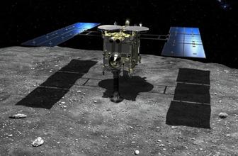 Japon uzay aracı asteroide indi! İşte görevi