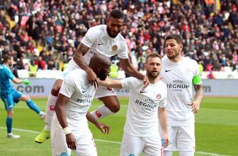Antalyaspor, galibiyet hasretini Sivas'ta dindirdi!