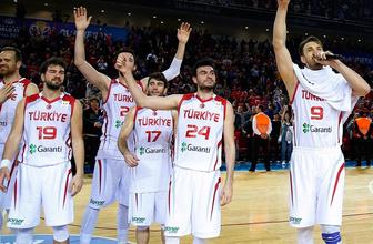 A Milli Basketbol Takımı'nın FIBA Dünya Kupası'ndaki programı belli oldu